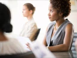 black women office