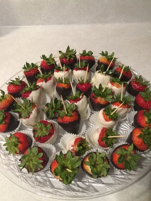 These strawberries though. Thanks, Tomeka!